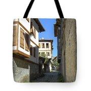 Cobblestone Village Street Tote Bag