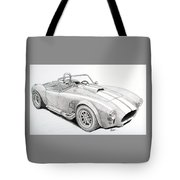 Ac Ford Cobra With 427  Tote Bag
