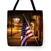 Coca-cola And America Tote Bag