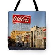 Coca Cola Billboard - San Francisco, California Usa Tote Bag