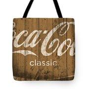 Coca Cola Classic Barn Tote Bag