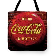 Coca Cola Dylan Quote Tote Bag