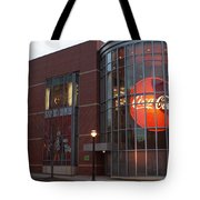 Coca Cola On The Corner Tote Bag