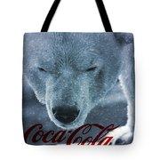 Coca Cola Polar Bear Tote Bag