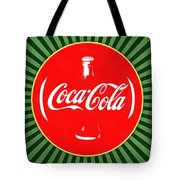 Coca Cola Pop Art  Tote Bag