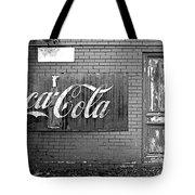 Coca-cola Sign Tote Bag