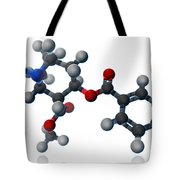 Cocaine Molecular Model Tote Bag