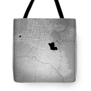 Cochabamba Street Map - Cochabamba Bolivia Road Map Art On Color Tote Bag