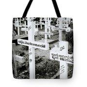Cochin Cemetery  Tote Bag