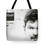 Street Art In Cochin Tote Bag