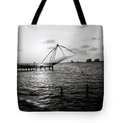 Dusk At Cochin Tote Bag