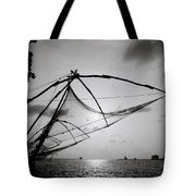 Dusk Over Cochin Tote Bag