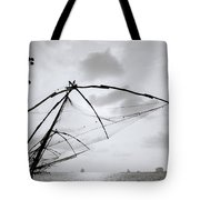 Sunset Over Cochin Tote Bag