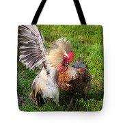 Cock Fight Tote Bag