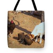 Cock N Goat Tote Bag