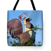 Cock Of The Roost Tote Bag