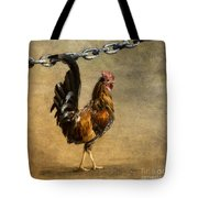 Cock Of The Walk Tote Bag