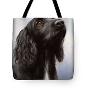 Cocker Spaniel Painting Tote Bag
