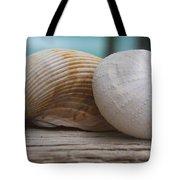 Cockle And Sea Urchin Tote Bag