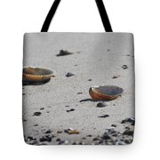 Cockle Shells On Little Island Tote Bag
