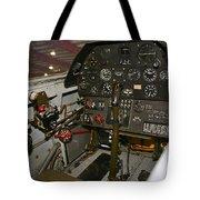 Cockpit Of A P-40e Warhawk Tote Bag