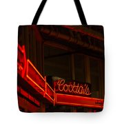 Cocktails In Neon Tote Bag
