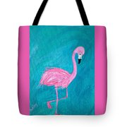 Cocky Flamingo Joe Tote Bag