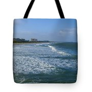 Cocoa Beach Seascape Tote Bag