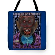 Cocoa The Cyber Monkey Tote Bag