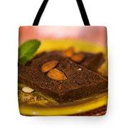 Coconut Almond Squares Tote Bag