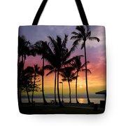 Coconut Island Sunset - Hawaii Tote Bag