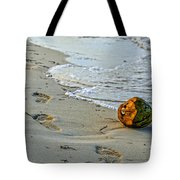 Coconut On The Sand Tote Bag
