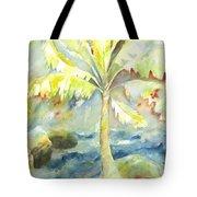 Coconut Palm Tote Bag