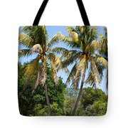 Coconut Palm Trees In Key West Tote Bag