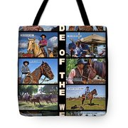 Code Of The West Tote Bag