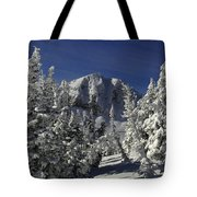 Cody Peak After A Snow Tote Bag