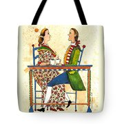Coffee And Conversation Tote Bag