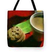 Coffee And Cookies At The Cafe Tote Bag