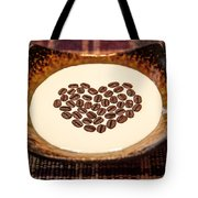 Coffee And Cream Tote Bag