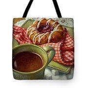 Coffee And Danish Tote Bag