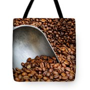 Coffee Beans With Scoop Tote Bag