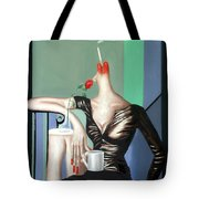 Coffee Break Tote Bag by Anthony Falbo