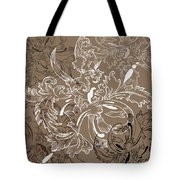 Coffee Flowers 11 Tote Bag