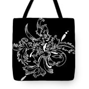 Coffee Flowers 11 Bw Tote Bag