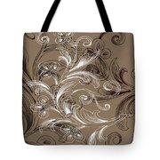 Coffee Flowers 4 Tote Bag