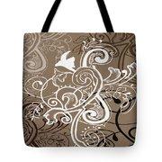 Coffee Flowers 5 Tote Bag