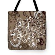 Coffee Flowers 7 Tote Bag