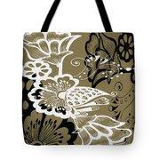 Coffee Flowers 9 Olive Tote Bag