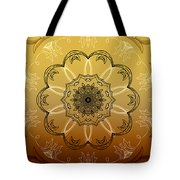 Coffee Flowers Calypso Triptych 4 Vertical Tote Bag