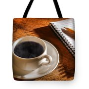 Coffee For The Writer Tote Bag
